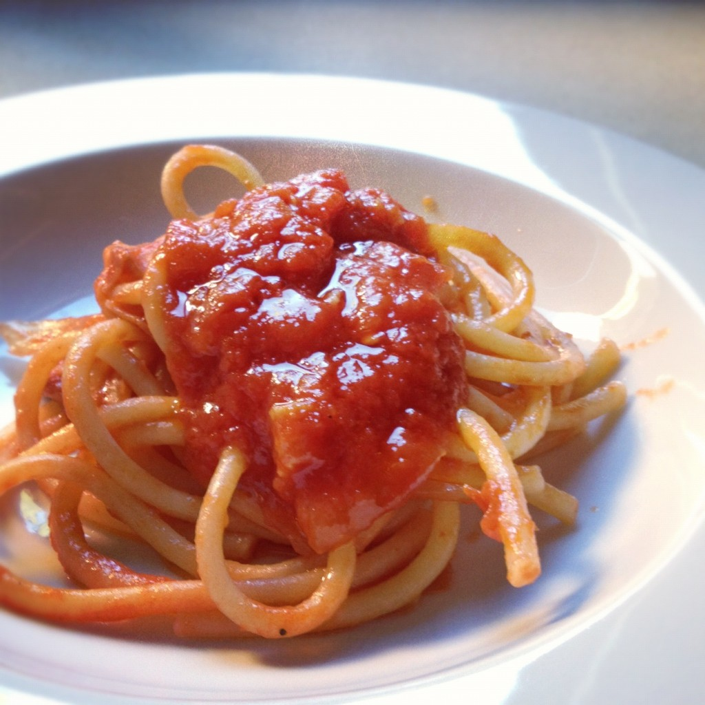 Bucatini a l'Amatriciana
