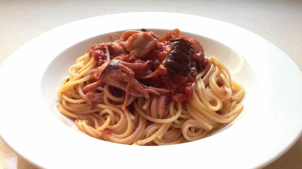 espaguetis amb pops