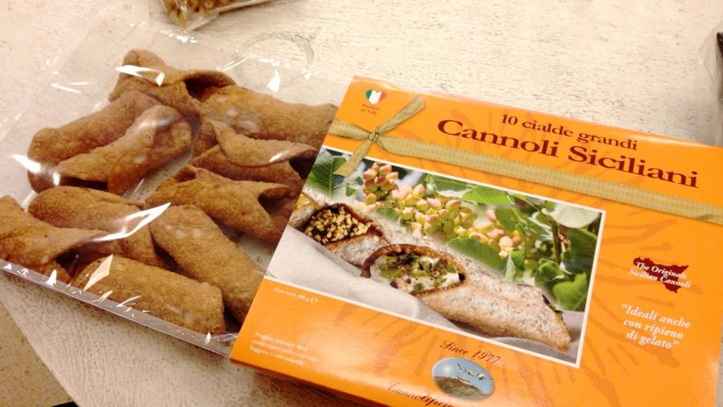 Cannoli siciliani per farcir