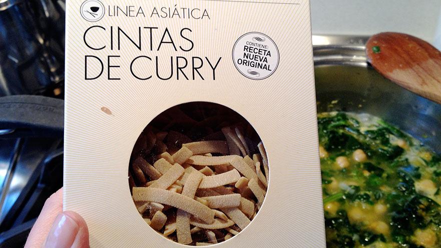 Cintas de curry Sandro Desii