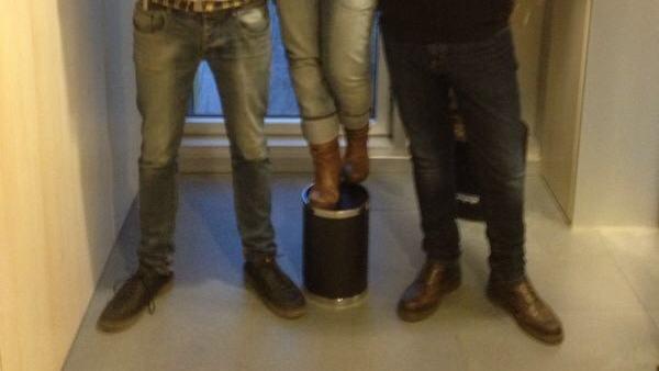Amb l'Andreu i l'Isma