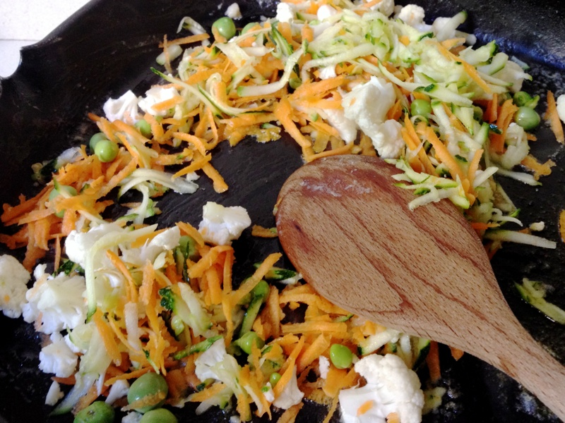 Couem les verdures a la planxa
