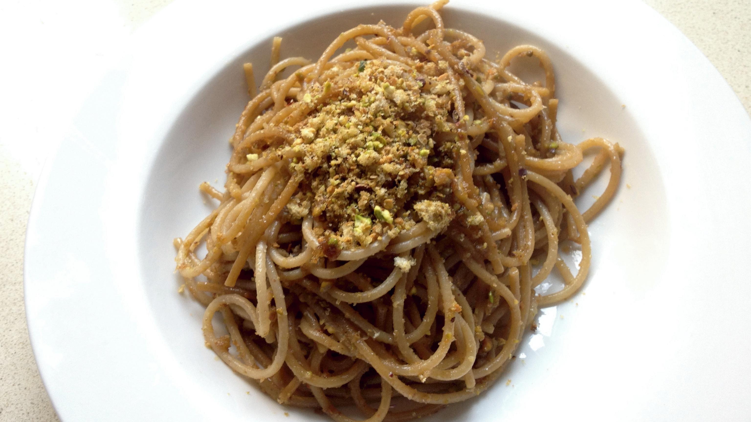 Espaguetis amb oli aròmatic Borges